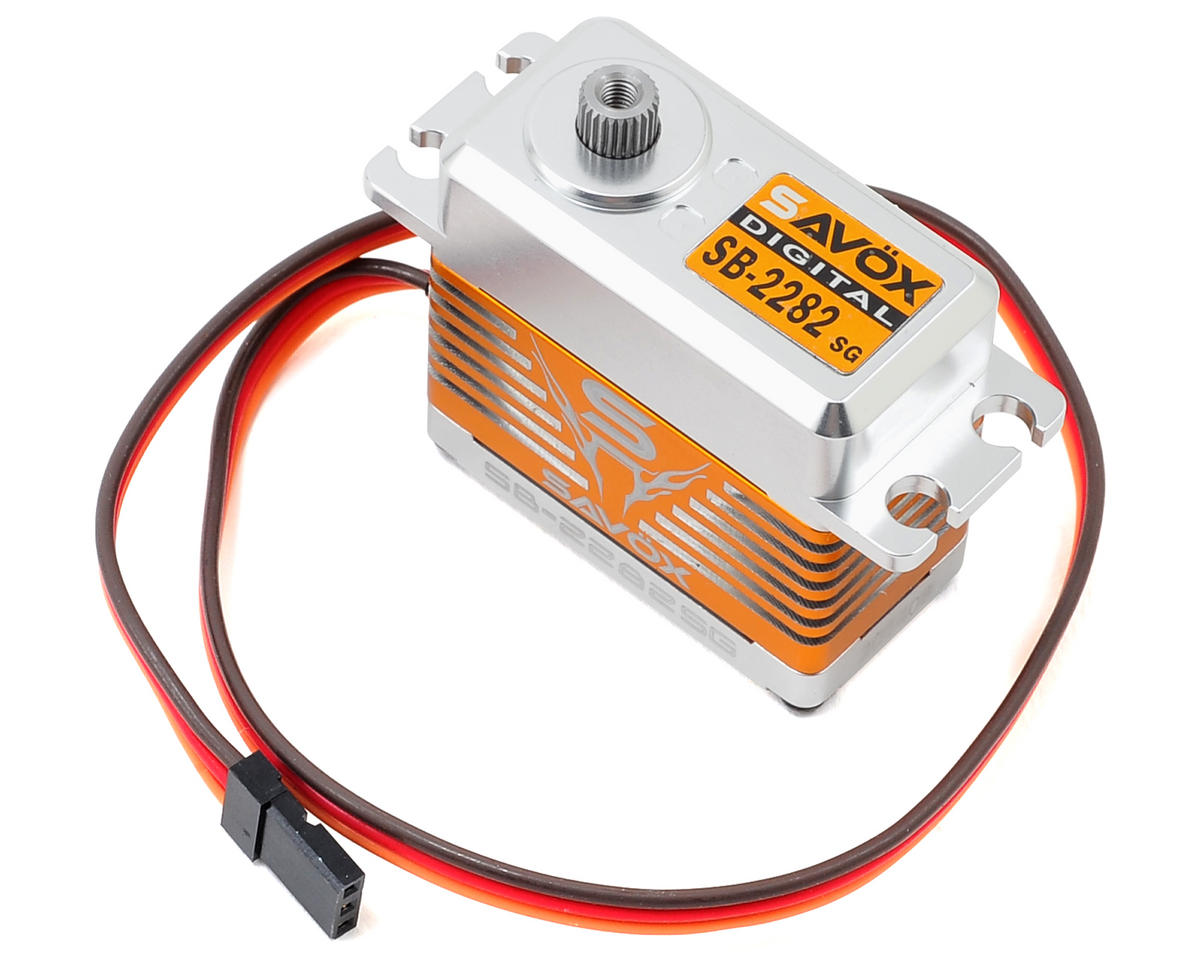 Savox SB-2282SG Monster Torque Brushless Steel Gear Servo (High Voltage)