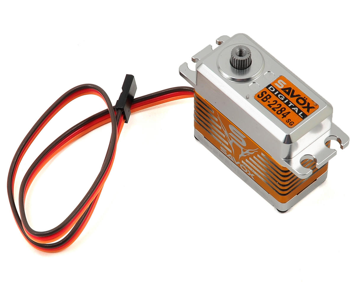 "High Voltage Savox SB-2284SG /""High Torque/"" Brushless Steel Gear Digital Servo"