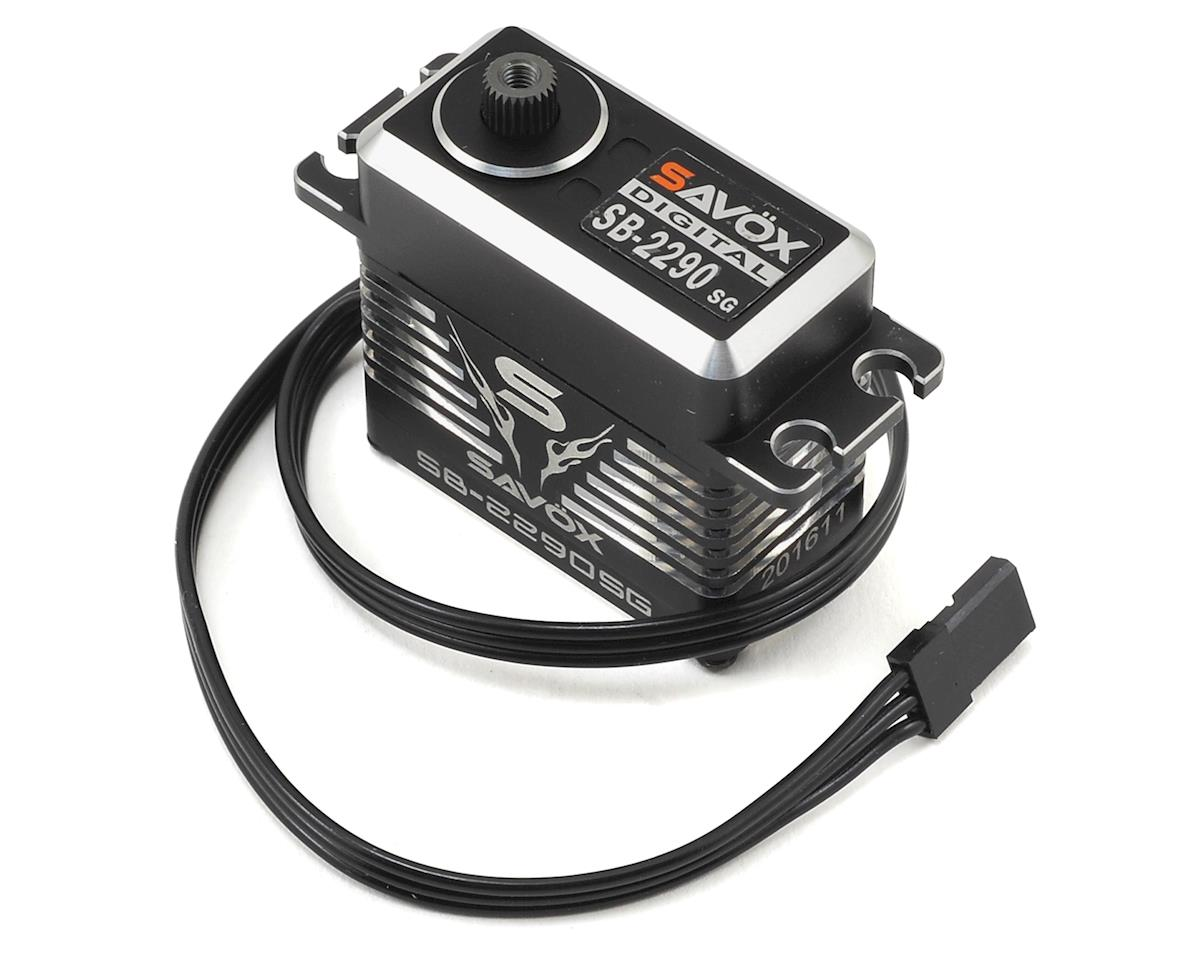SB-2290SG Black Edition Monster Torque Brushless Steel Gear Servo by Savox