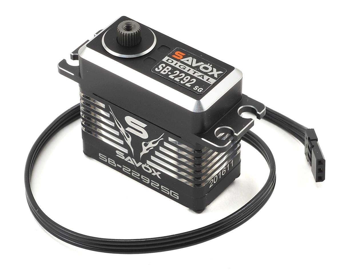 SB-2292SG Black Edition Monster Torque Brushless Steel Gear Servo by Savox