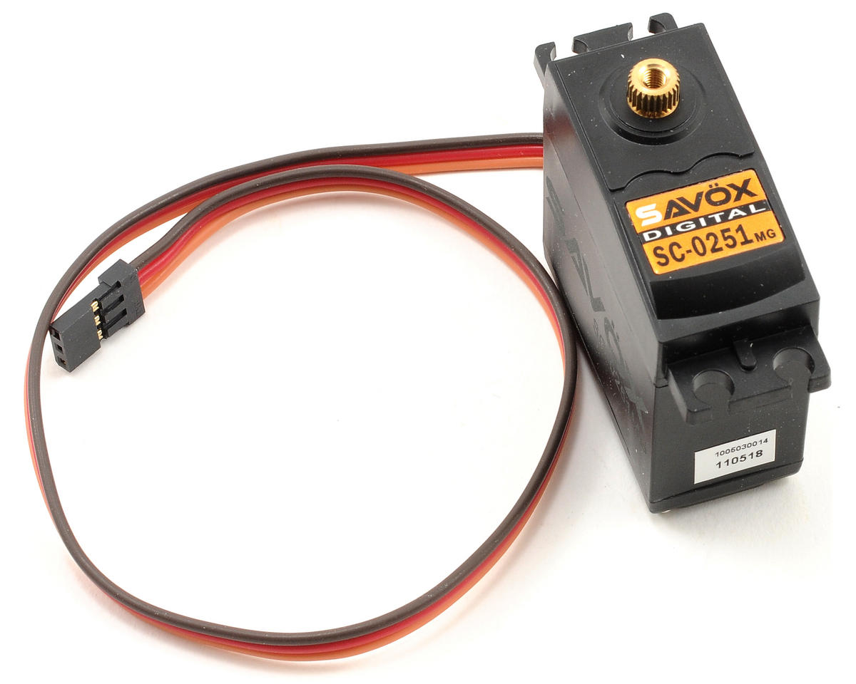 "SC-0251 ""Larger Standard"" Digital High Torque Metal Gear Servo by Savox"