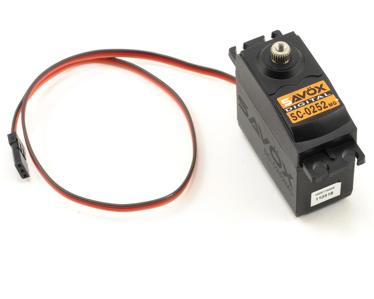 Savox SC-0252MG Standard Digital Metal Gear Servo | alsopurchased
