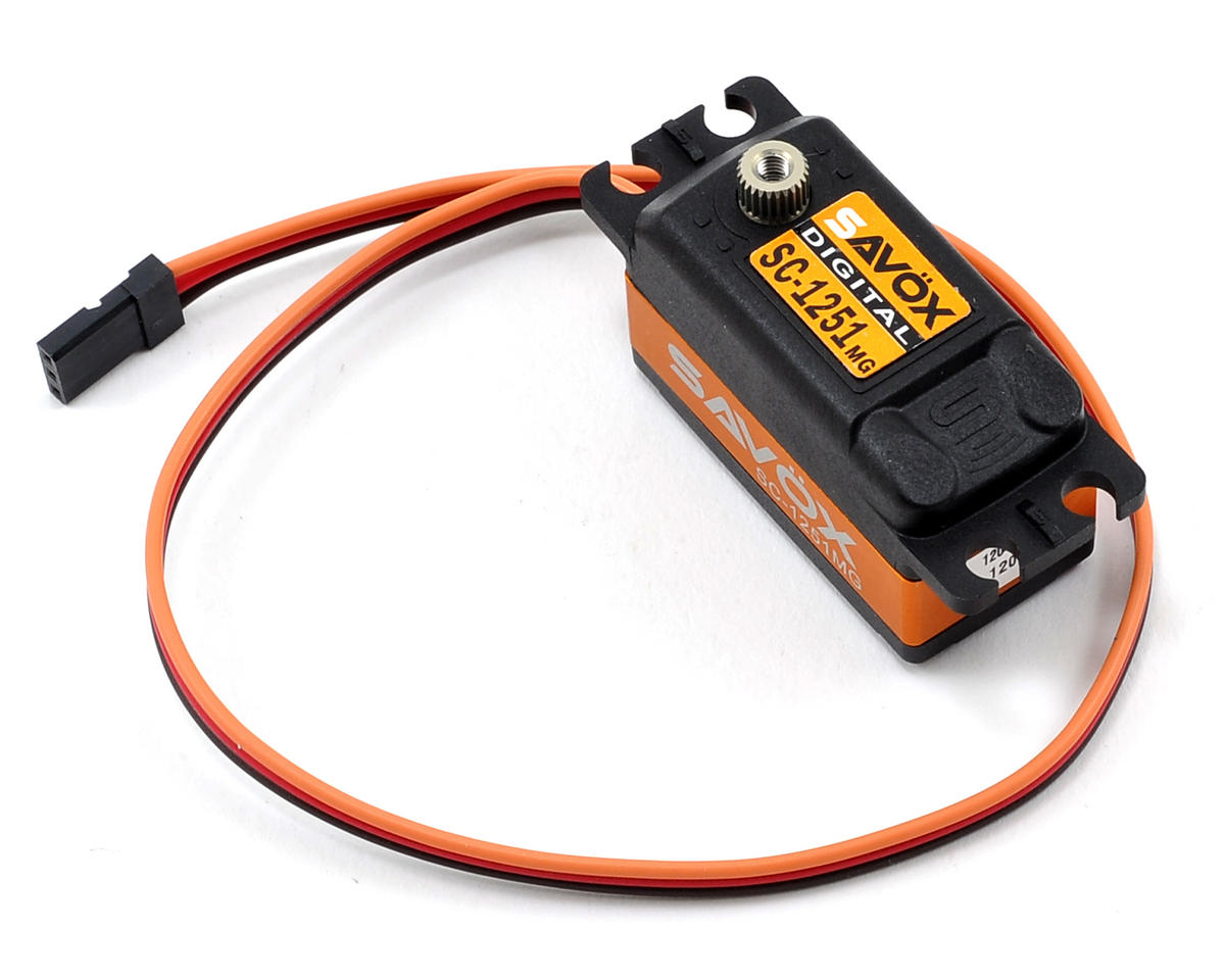"SC-1251MG Low Profile Digital ""High Speed"" Metal Gear Servo by Savox"