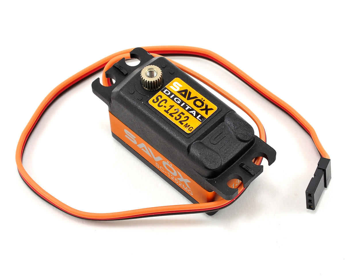 "Savox SC-1252MG Low Profile ""Super Speed"" Metal Gear Digital Servo"