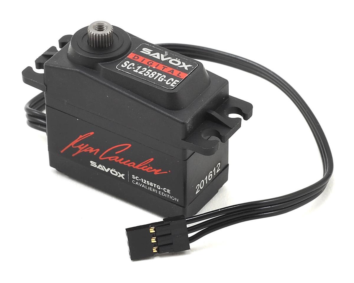 "Savox SC-1258TG-CE Ryan Cavalieri Standard Digital ""High Speed"" Servo"