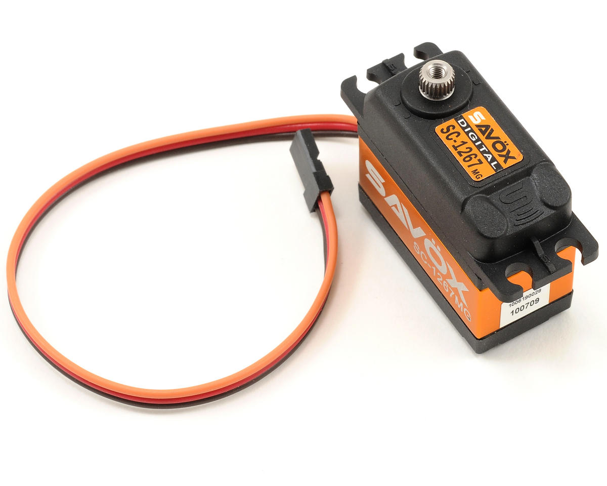 "SC-1267SG ""Super Speed"" Digital Steel Gear Servo (High Voltage) by Savox"