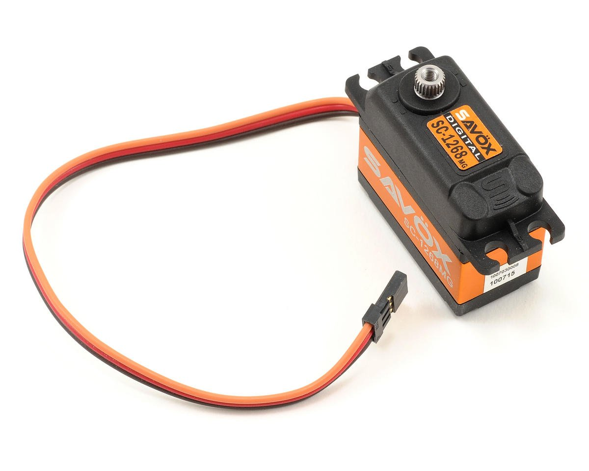 "SC-1268SG ""High Torque"" Digital Steel Gear Servo (High Voltage) by Savox"