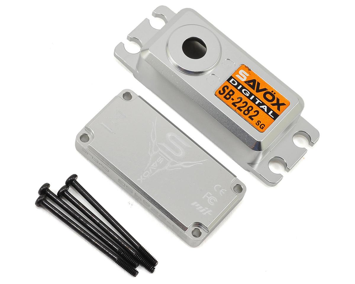Savox SB2282SG Upper/Lower Case Set w/Hardware