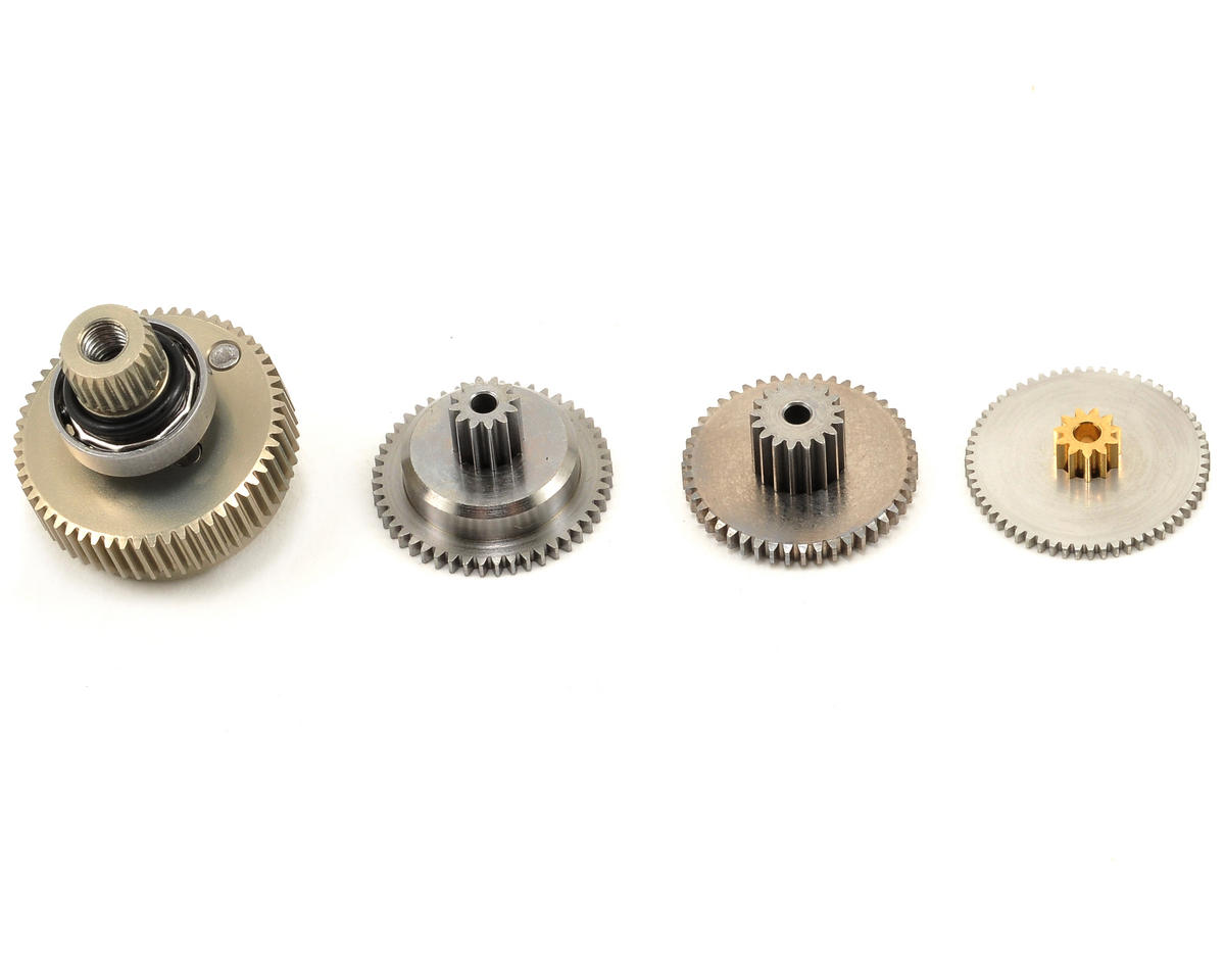 Image 1 for Savox SC1256TG Titanium Gear Set w/Bearing