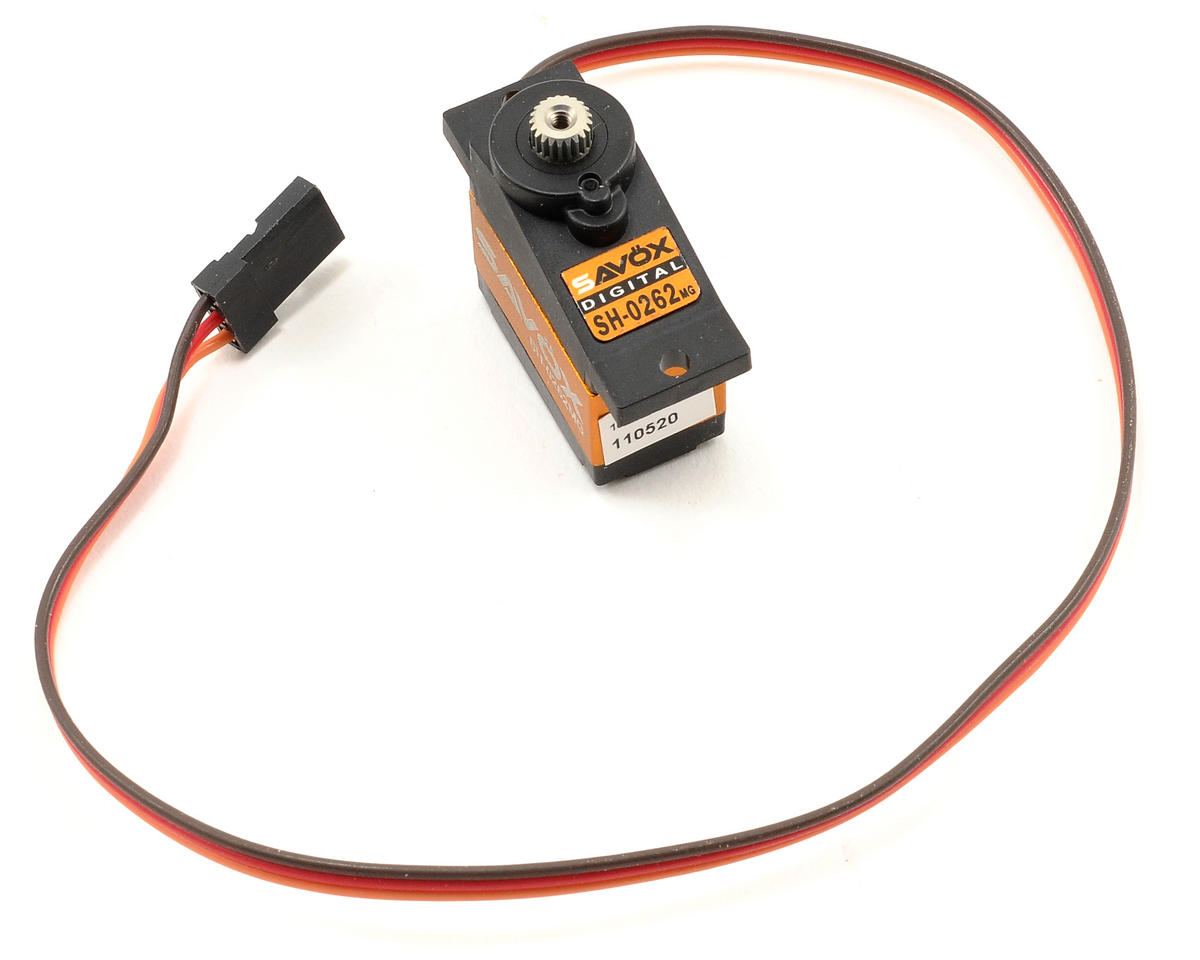 "Savox SH-0262MG Digital Metal Gear ""High Speed"" Micro Servo"