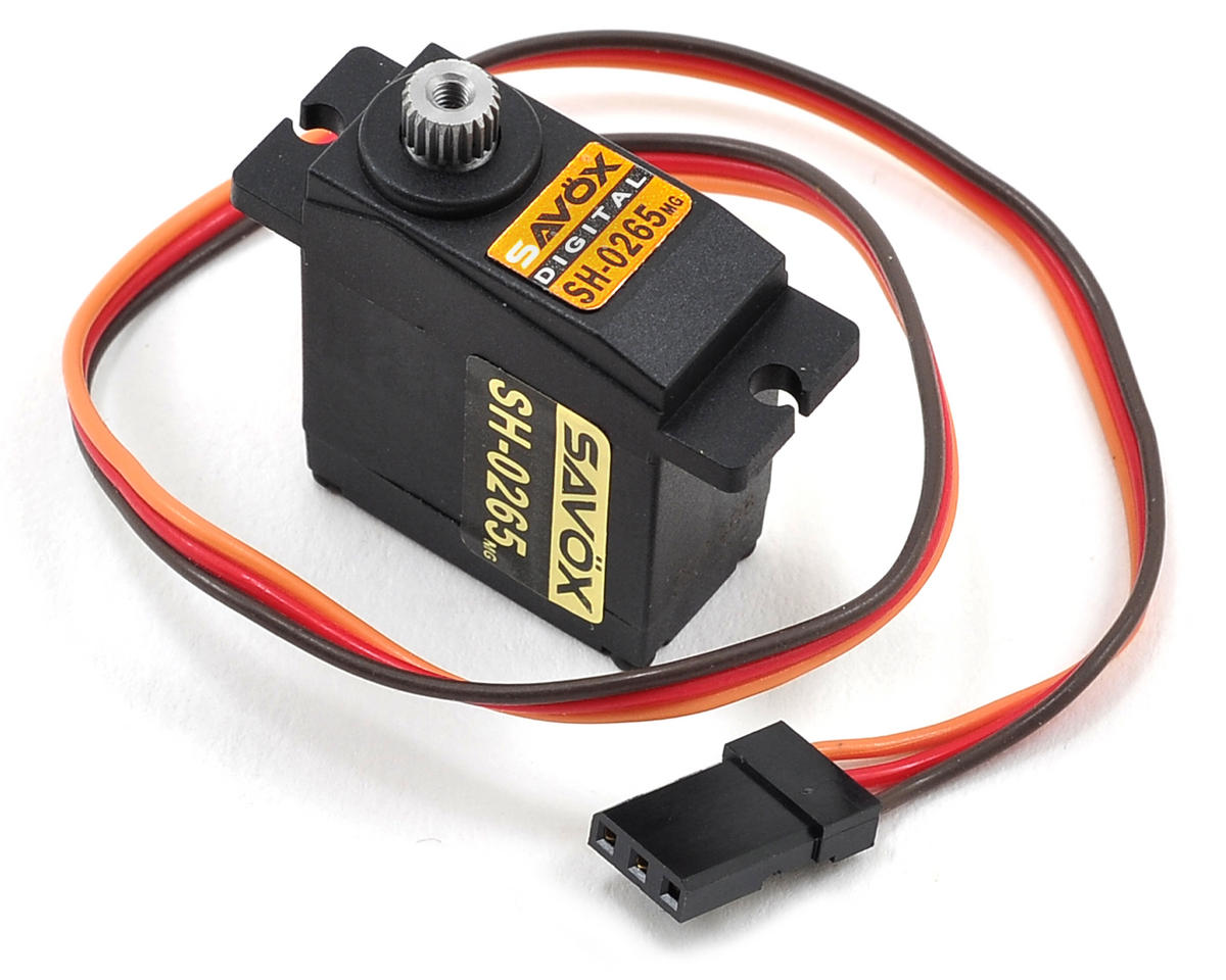 SH-0265MG Digital Metal Gear Micro Servo by Savox