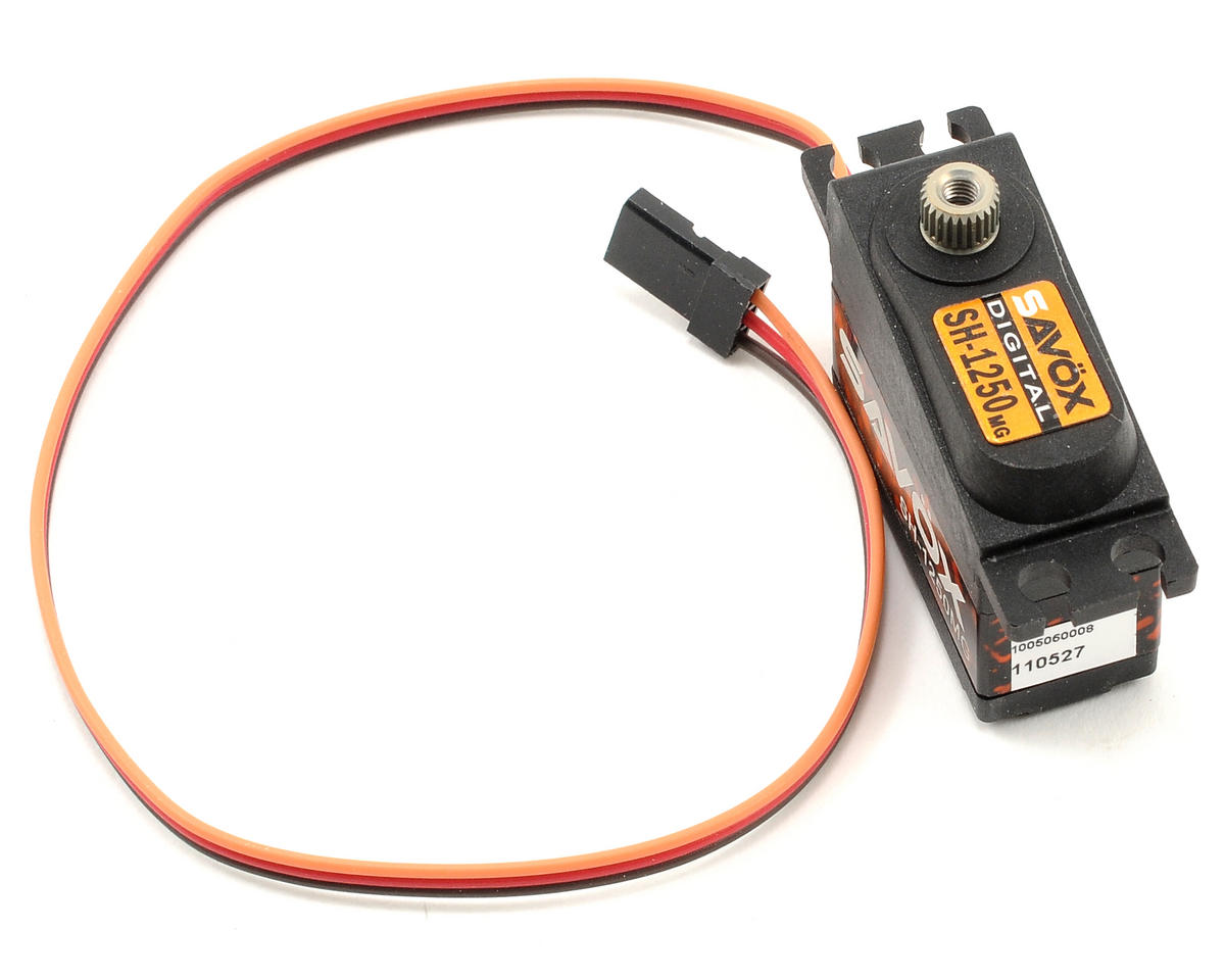 "SH-1250MG Digital Metal Gear ""High Torque"" Mini Servo by Savox"