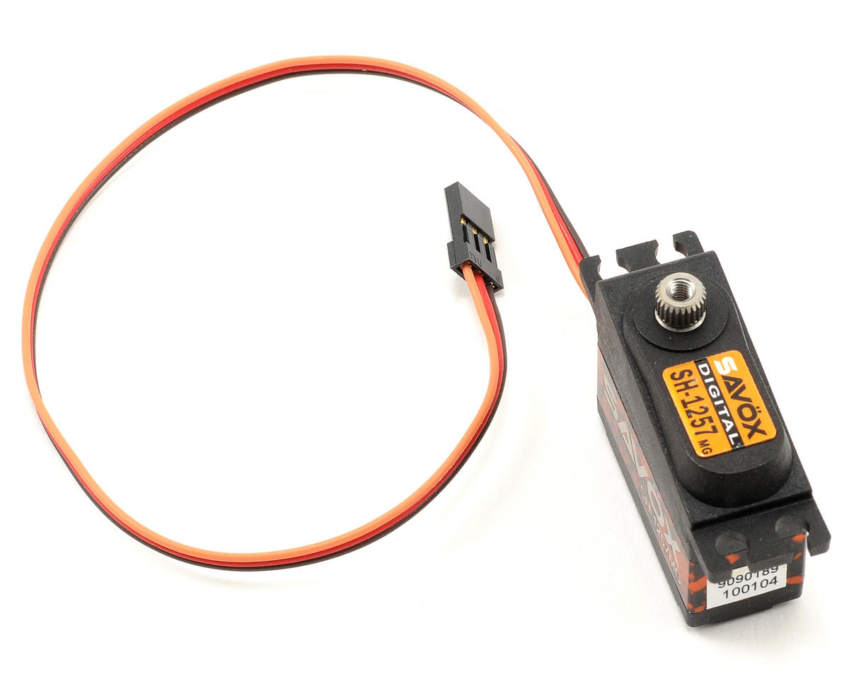 "Savox SH-1257MG Digital Metal Gear ""High Speed"" Mini Servo (SAB Goblin 380)"