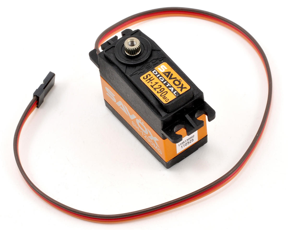 "Savox SH-1290MG Digital Metal Gear ""Ultra Speed"" Tail Servo"