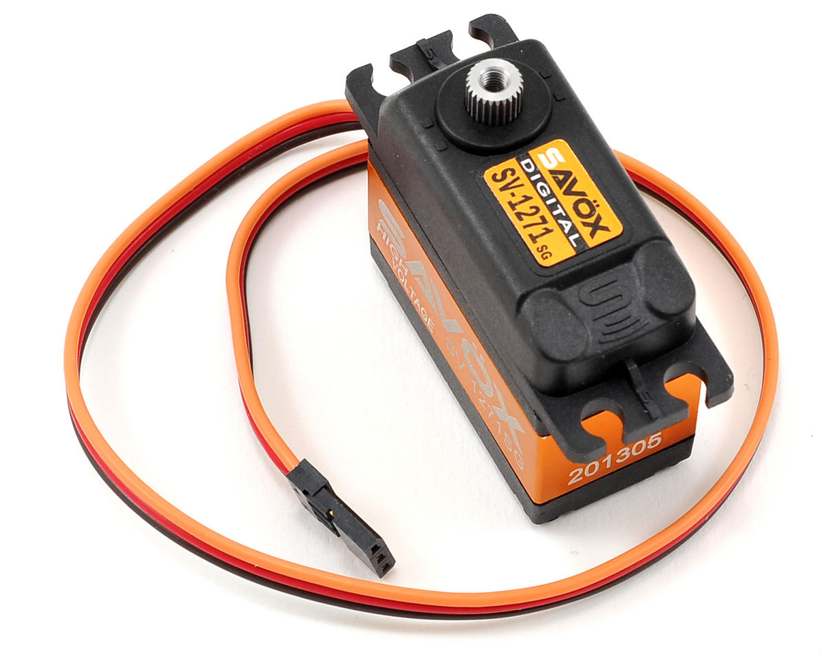 Savox SV-1271SG Standard Digital Steel Gear Servo (High Voltage)