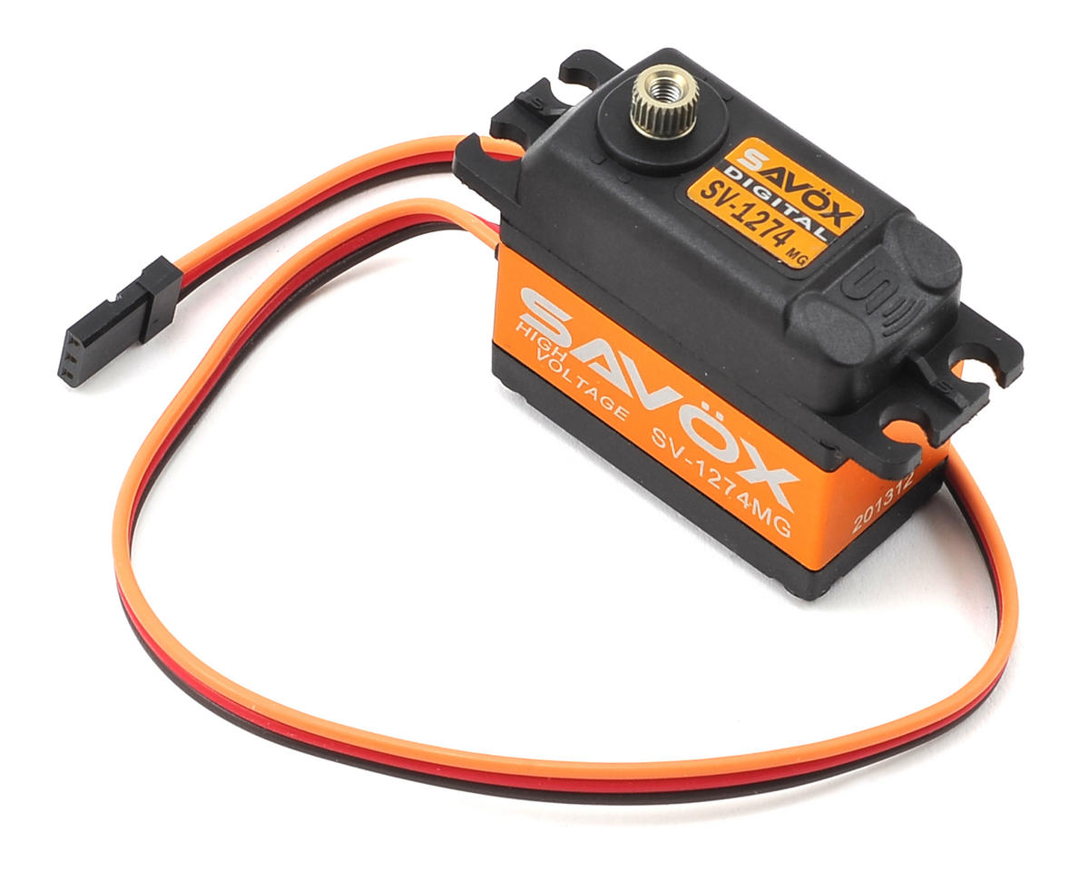 Savox SV-1274MG Standard Digital Metal Gear Helicopter Tail Servo (High Voltage)