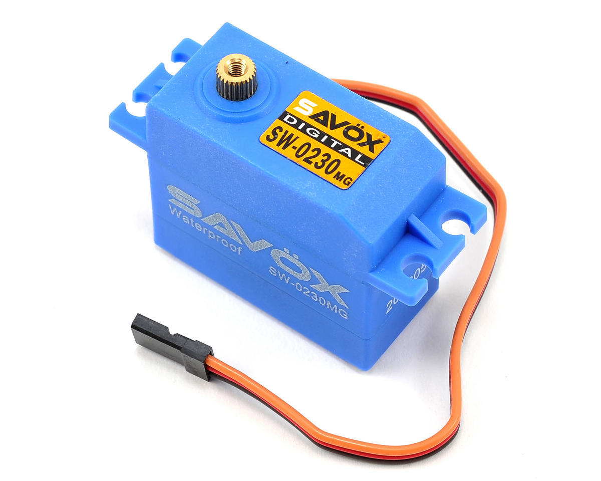 SW-0230MG Waterproof Metal Gear Digital Servo (High Voltage) by Savox