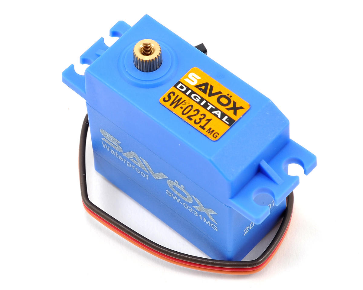 "SW-0231MG ""Tall"" Waterproof Metal Gear Digital Servo by Savox"