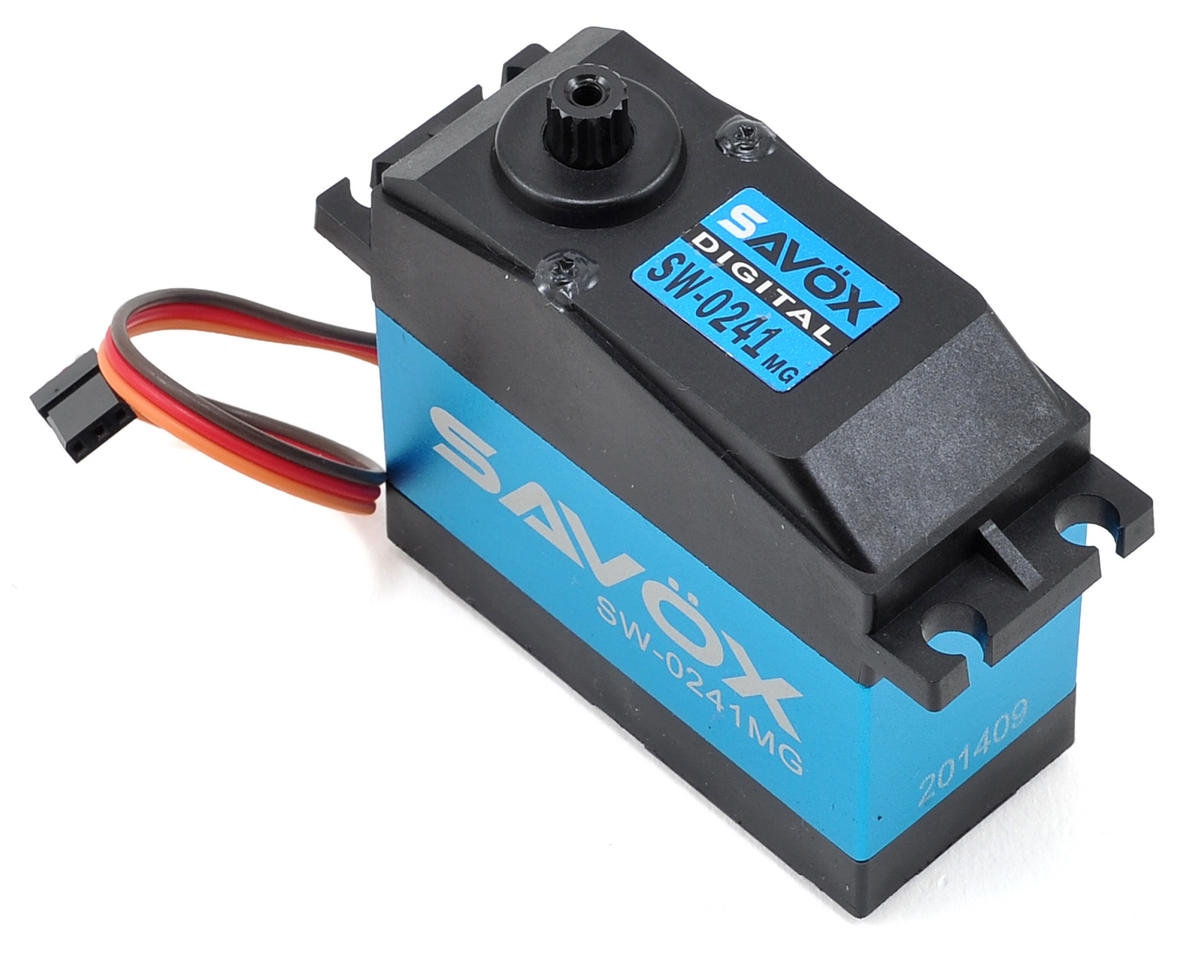 "SW-0241MG ""Super Torque"" Waterproof Digital 1/5 Scale Servo (High Voltage) by Savox"