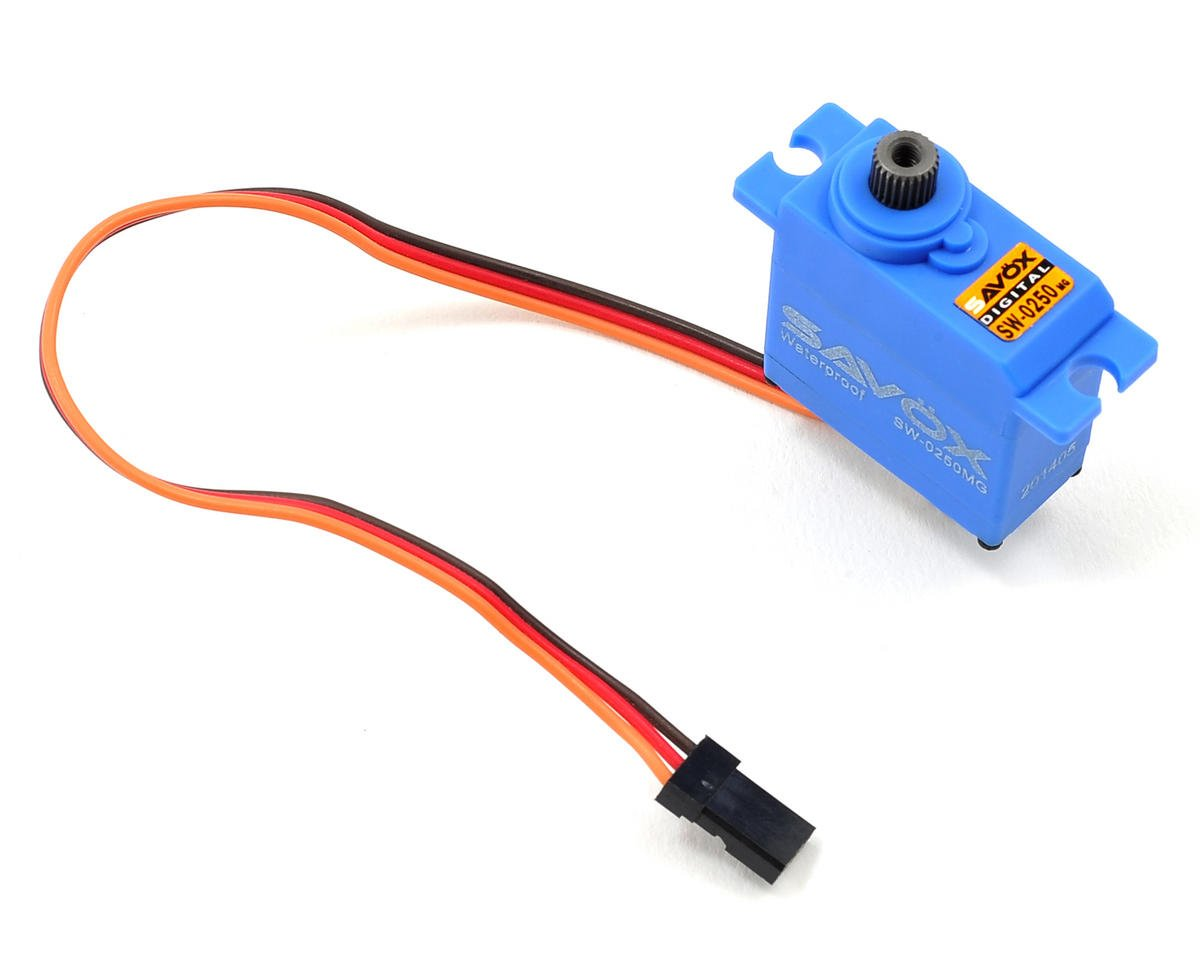 Savox SW-0250MG Waterproof Digital Metal Gear Micro Servo (Traxxas 1/16 Rally)