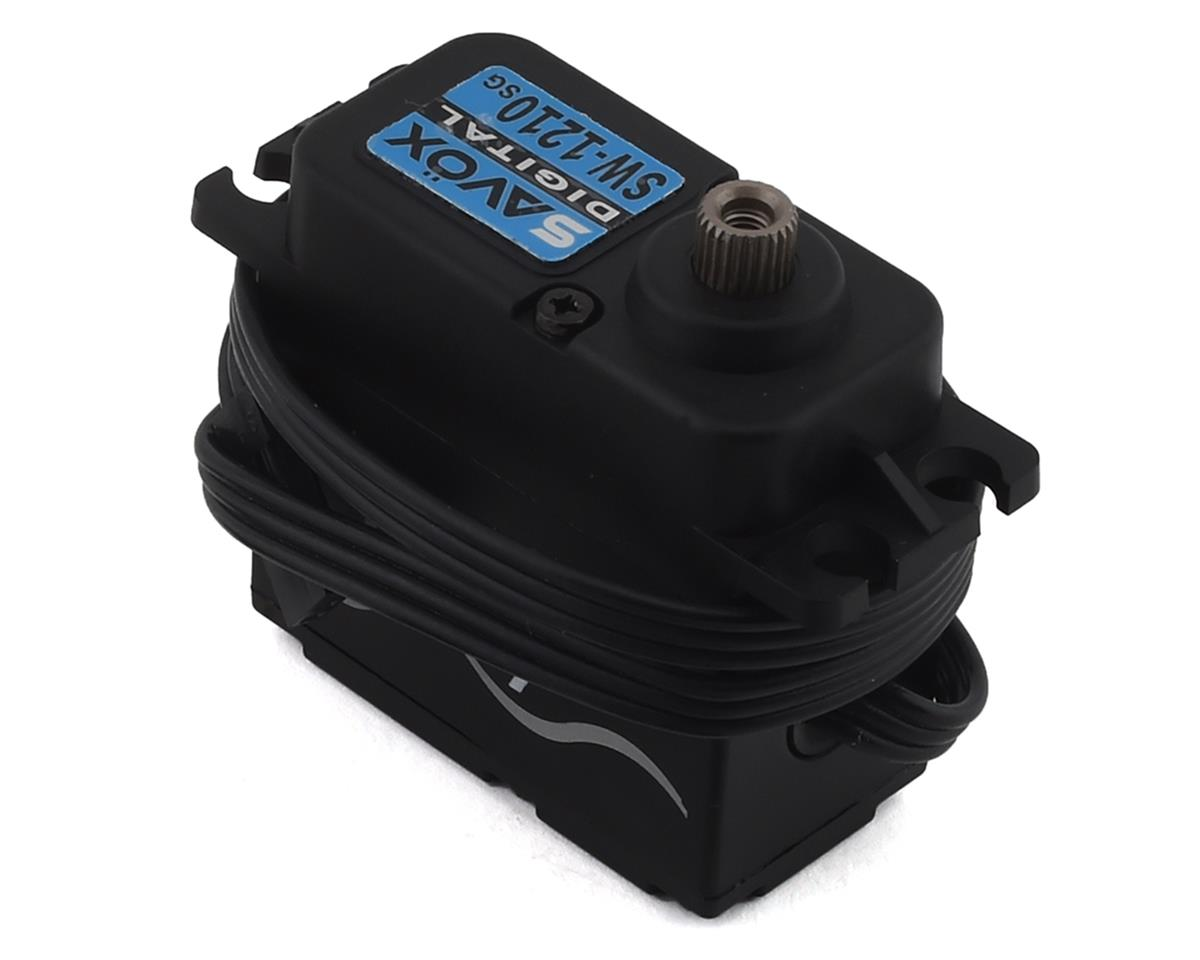 "Savox SW-1210SG ""Tall"" Waterproof Aluminum Case Digital Steel Gear Servo 