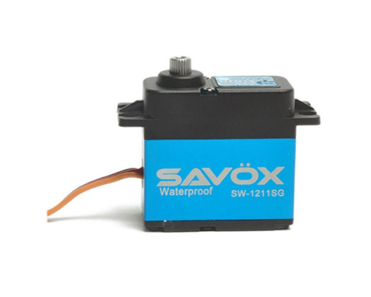 SW-1211SG Waterproof Case Digital Steel Gear Servo by Savox