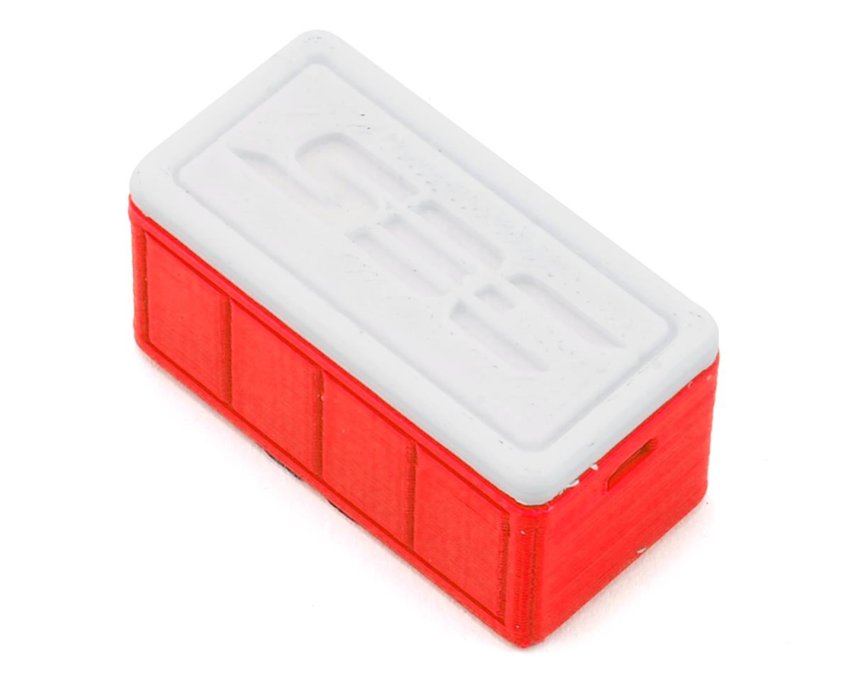 Small Ice Chest (Red) by Scale By Chris