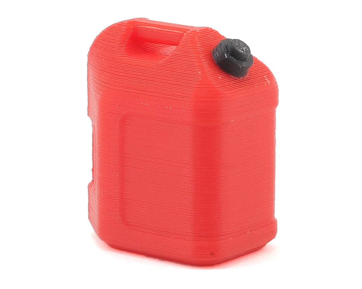 Scale By Chris 5 Gallon Fuel Jug (Red) (Axial RR10 Bomber)