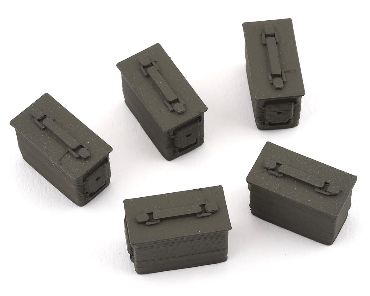 Scale By Chris Ammo Box 5 Pack (Green)