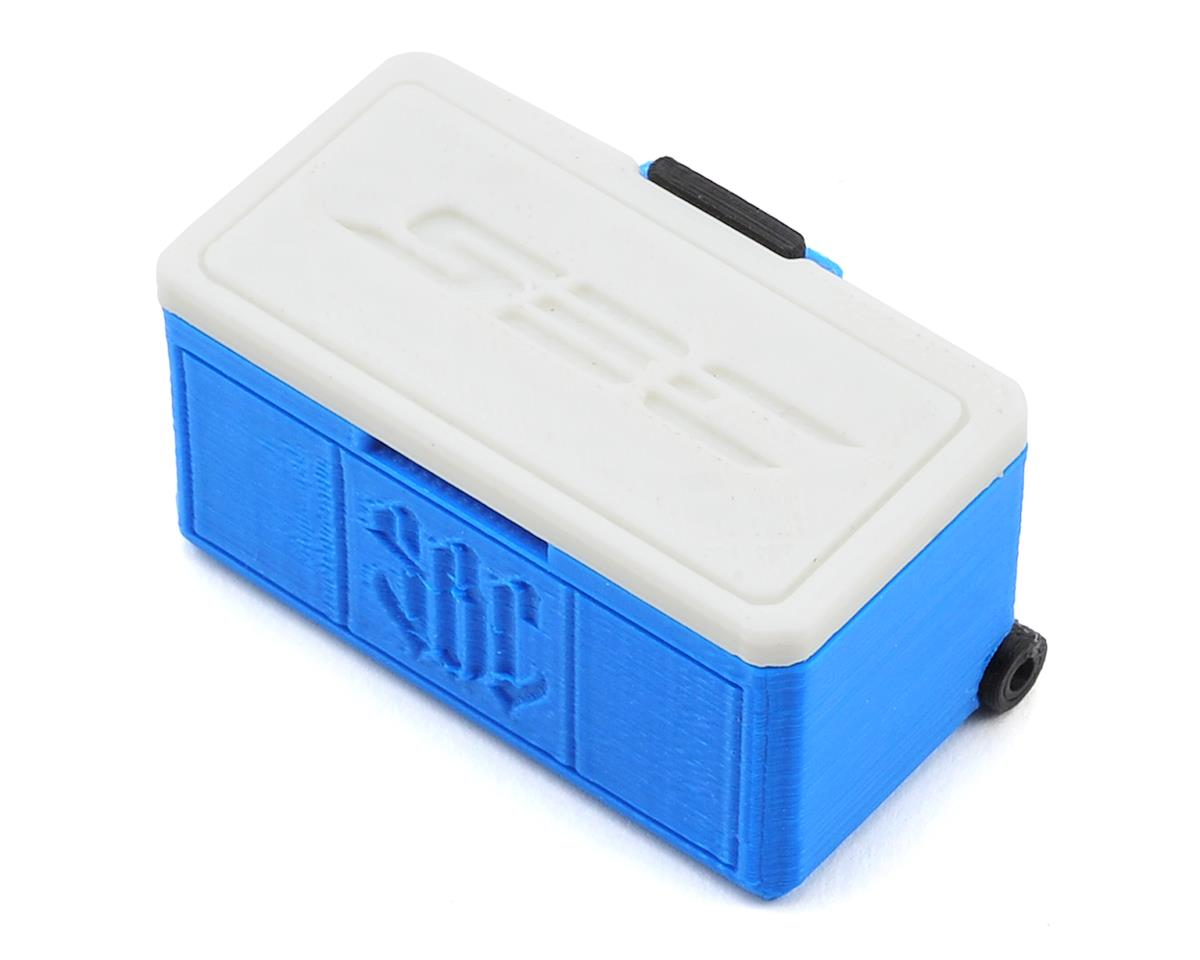 Wheeled Ice Chest (Blue) by Scale By Chris