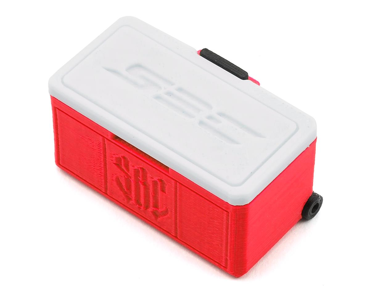 Wheeled Ice Chest (Red) by Scale By Chris