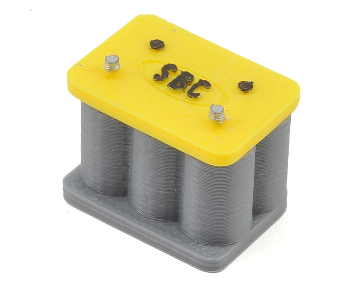 Yellow Top Battery by Scale By Chris