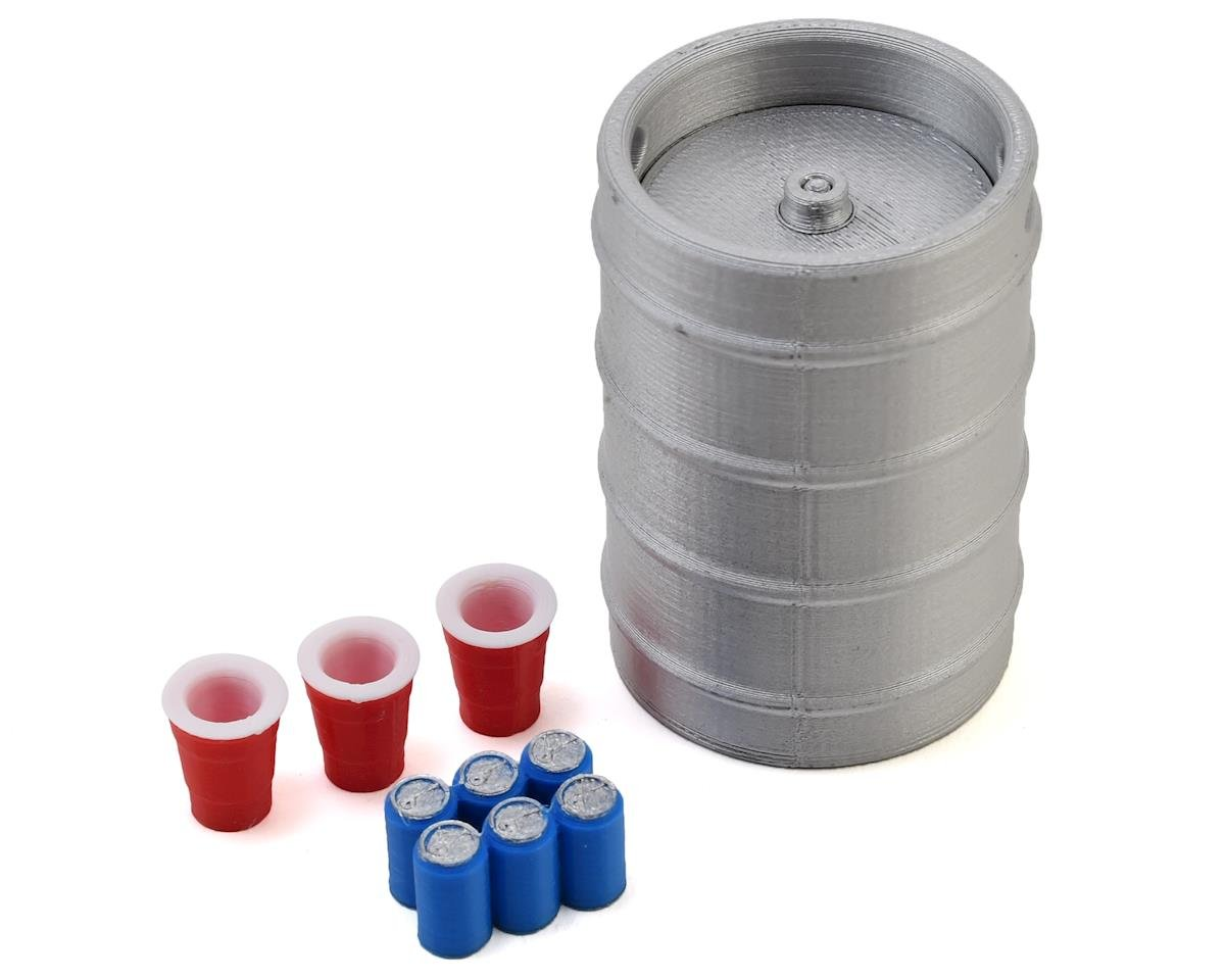 Scale By Chris Keg Party Pack w/Keg, 6-Pack & Keg Cup