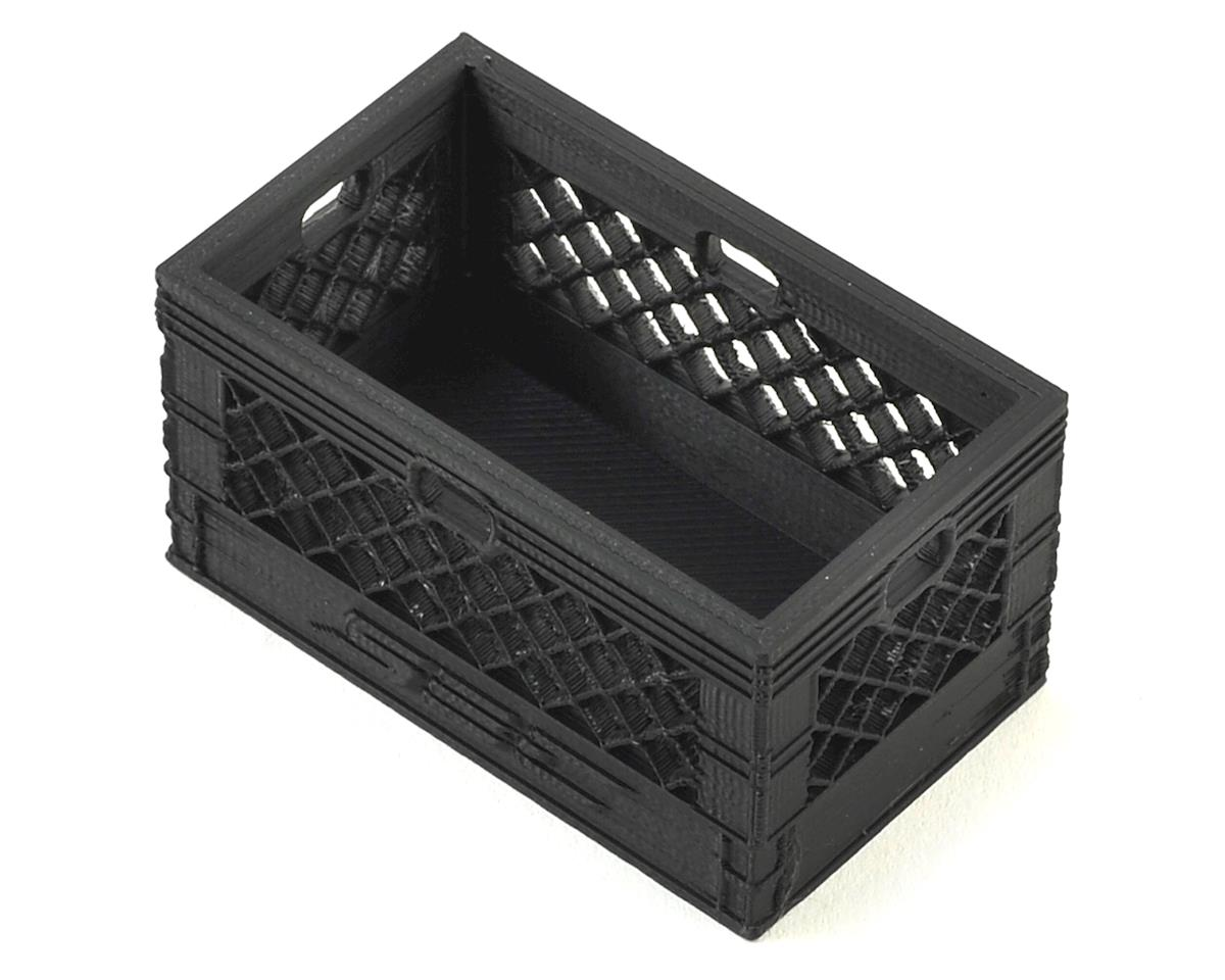 Scale By Chris Double Wide Milk Crate (Black)