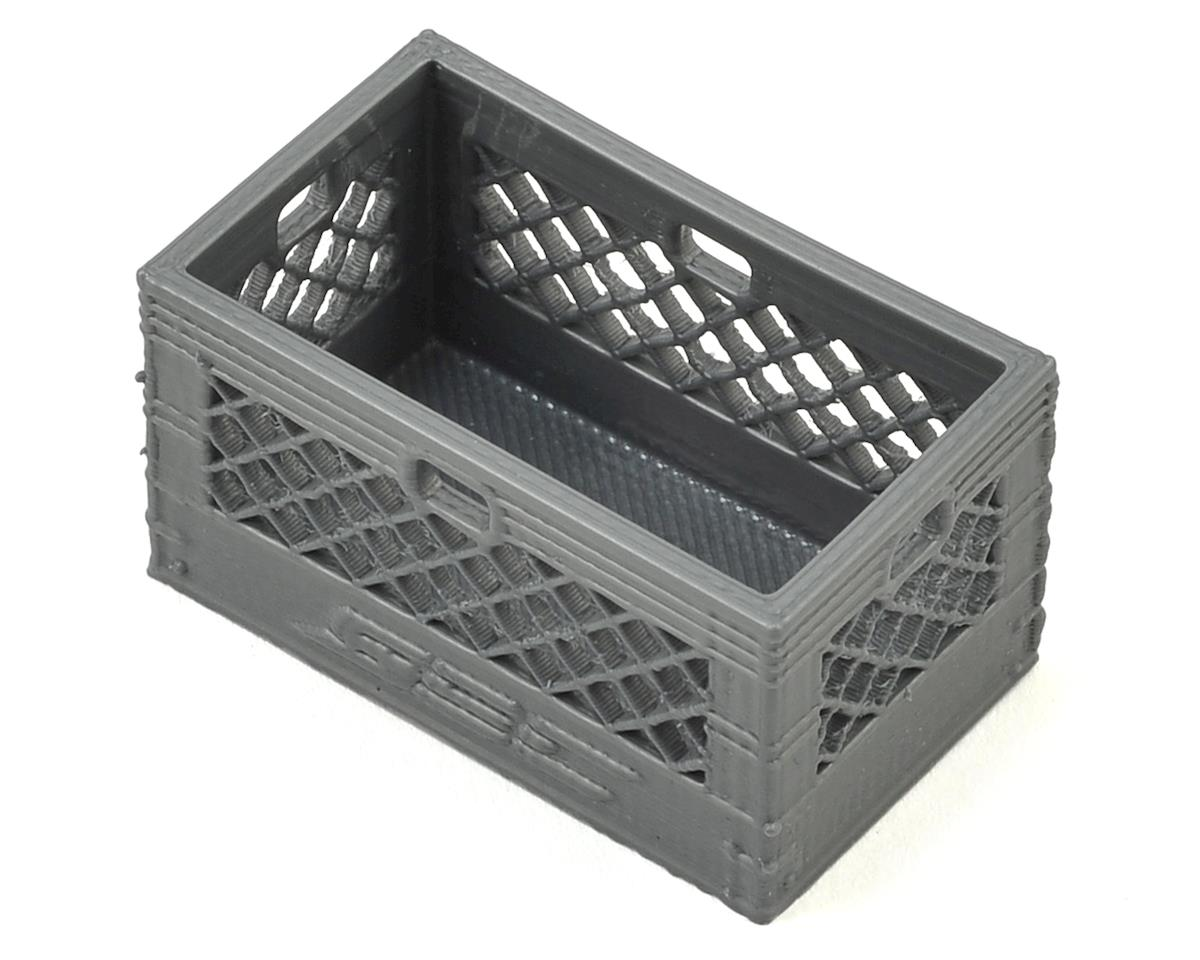 Double Wide Milk Crate (Grey) by Scale By Chris