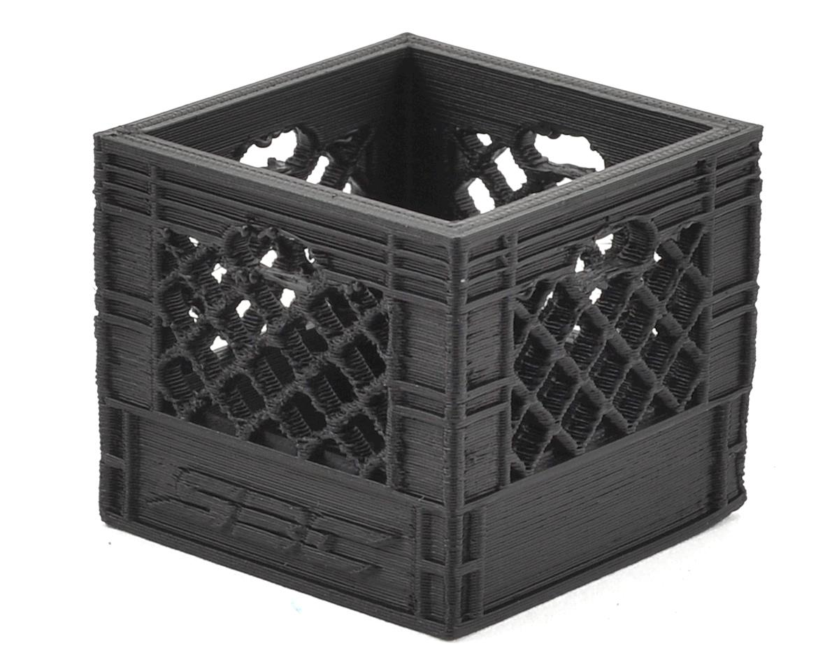 Medium Milk Crate (Black) by Scale By Chris