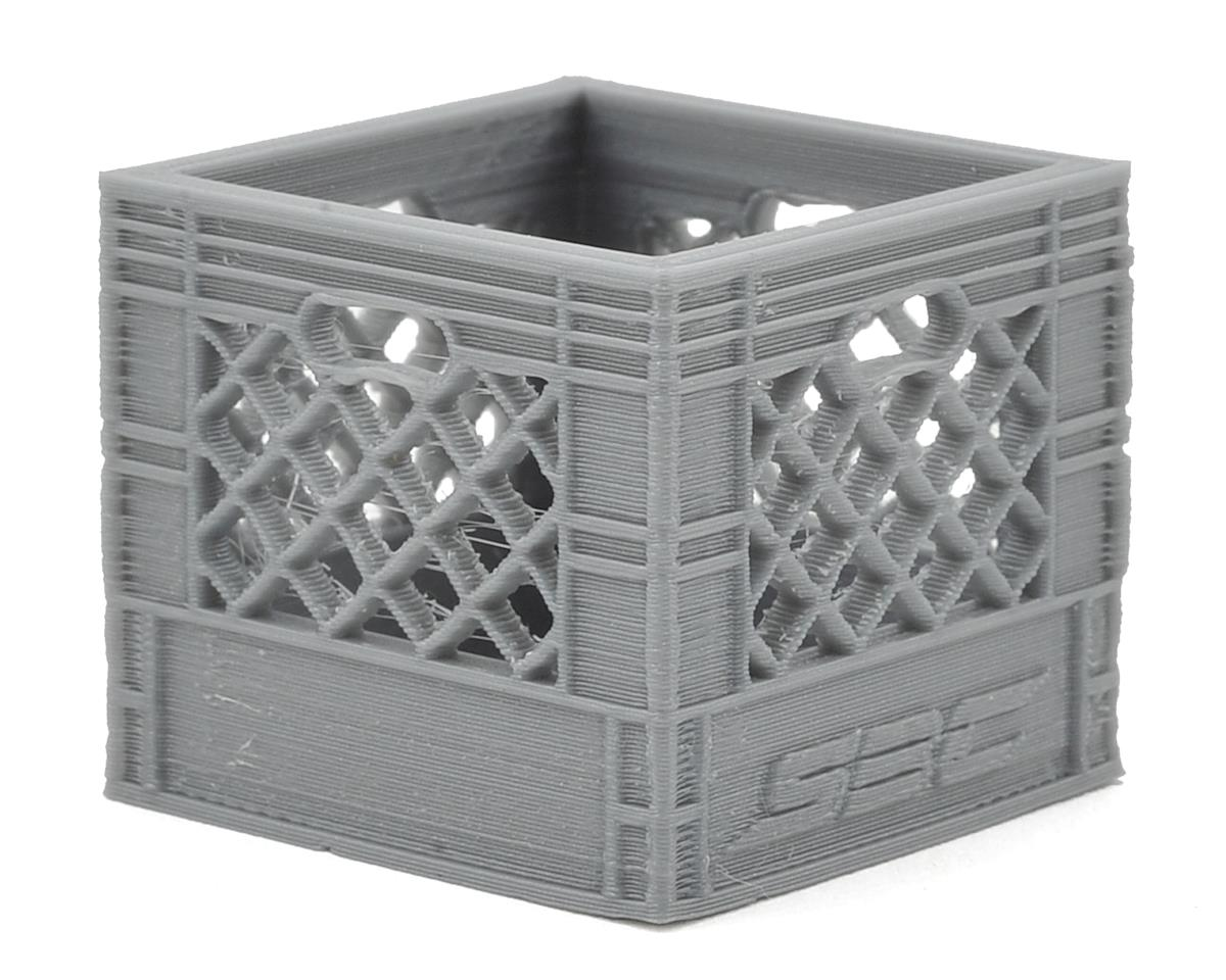 Scale By Chris Medium Milk Crate (Grey)