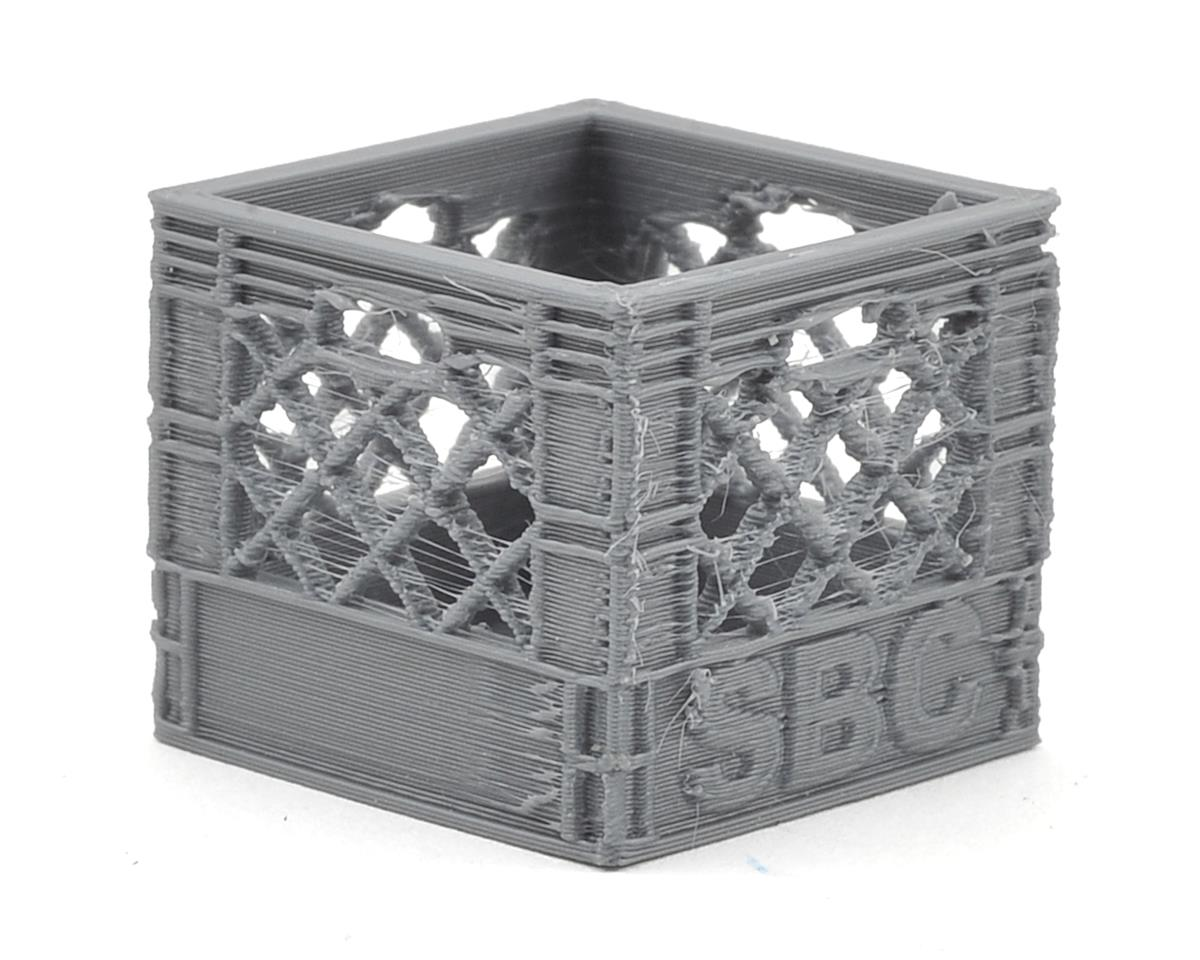 Scale By Chris Small Milk Crate (Grey)