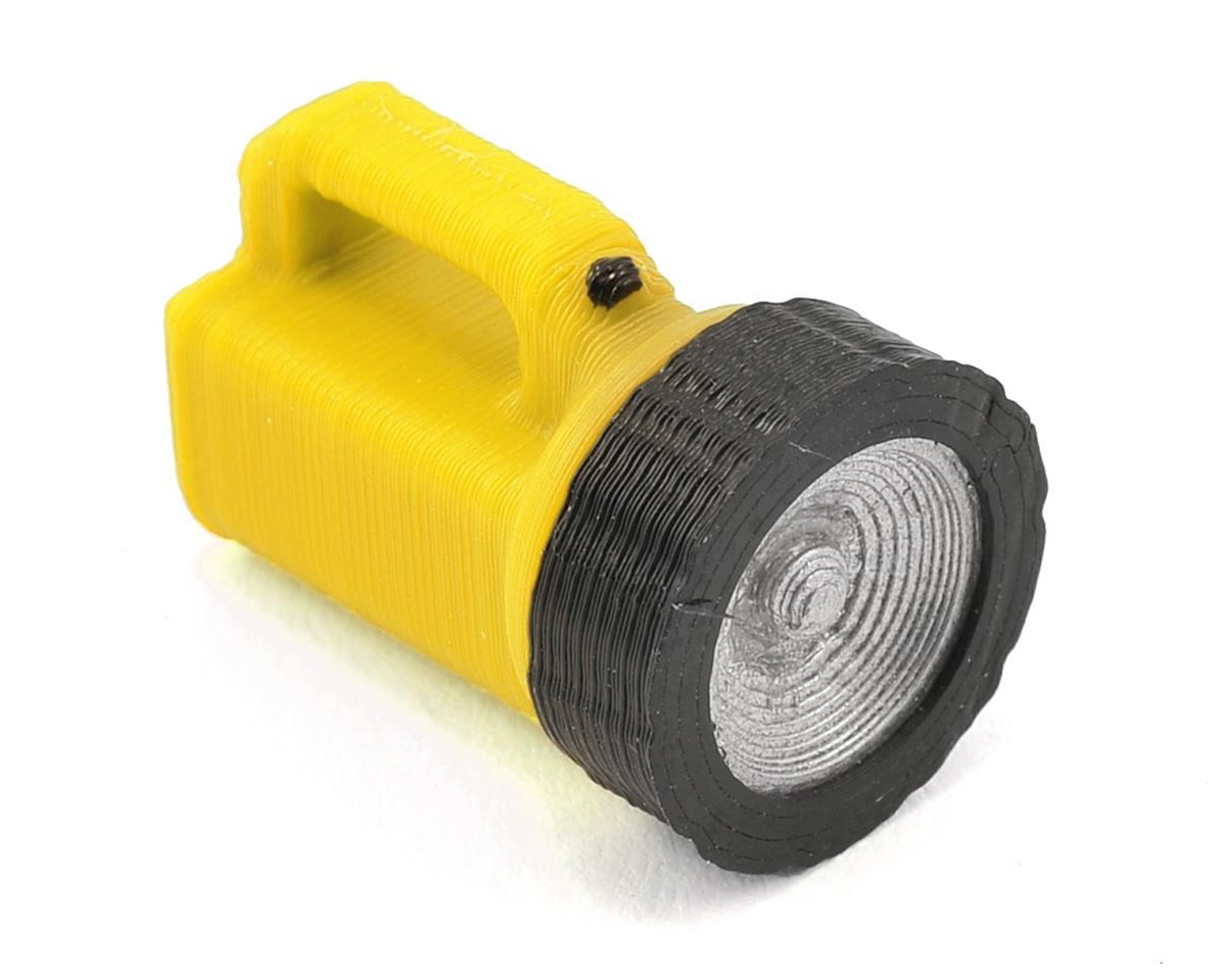 Large Handheld Flashlight (Yellow) by Scale By Chris