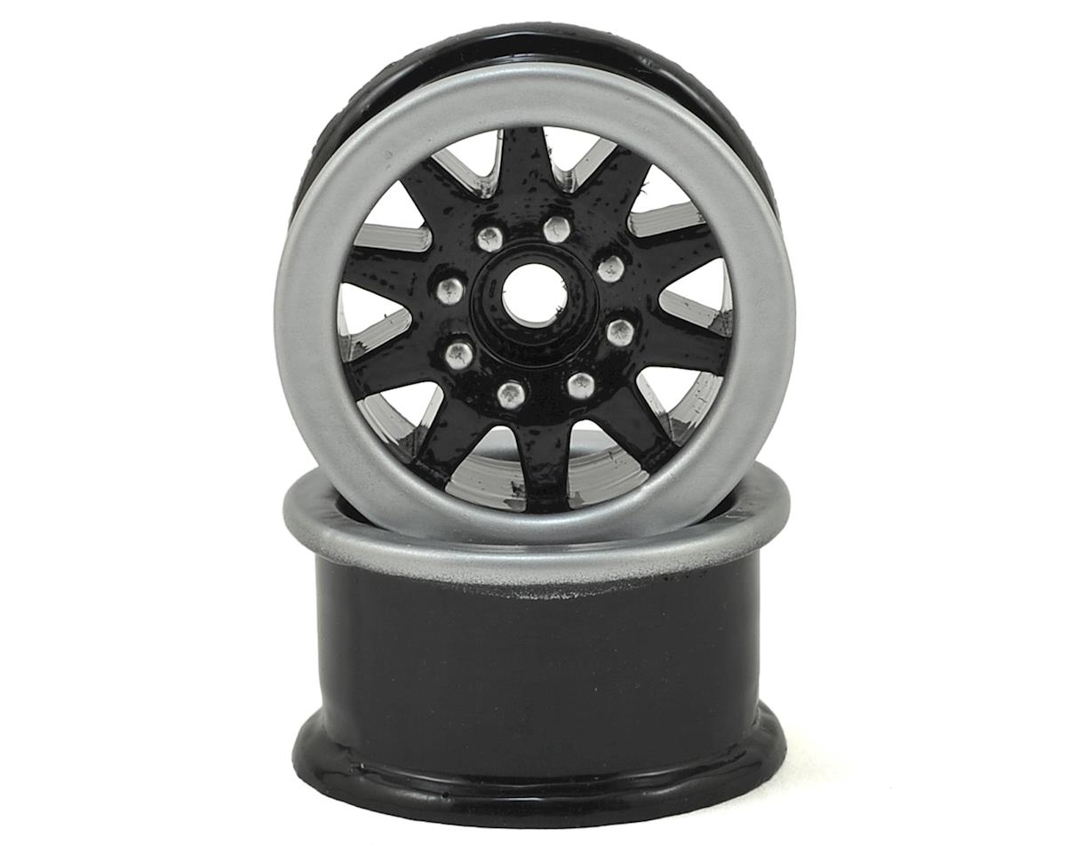 1.5 Trailer Wheels (2) (Black) by Scale By Chris
