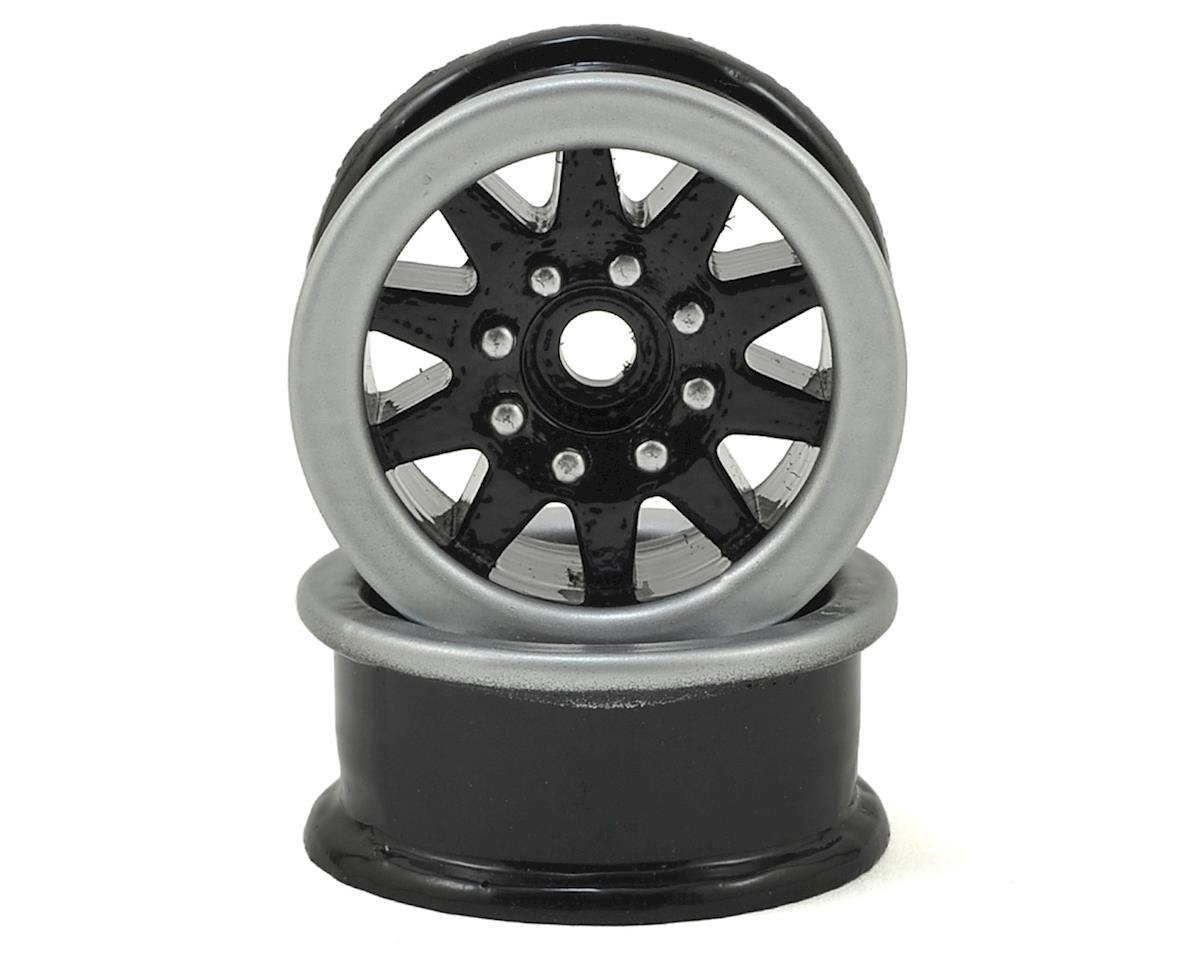 1.9 Trailer Wheels (2) (Black) by Scale By Chris