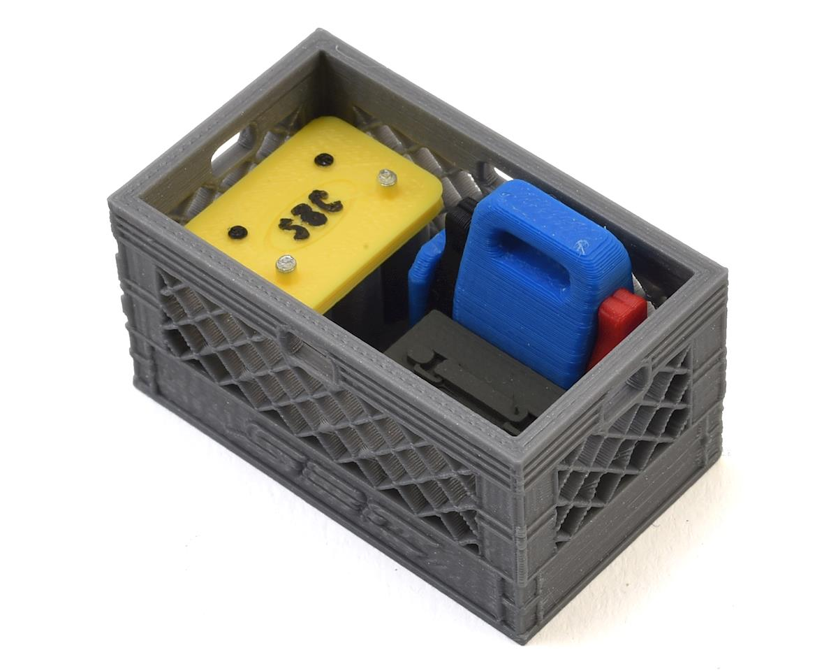 Loaded Battery Backup Double Milk Crate by Scale By Chris