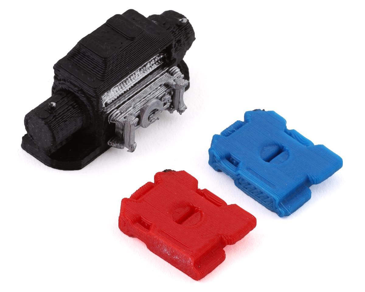 STOBOK Grupo de Cobre Peso Rc Crawler Contrapeso Beadlock Rueda Llanta Profesional para 1//10 Rc Crawler Modelo Coche 4 Piezas