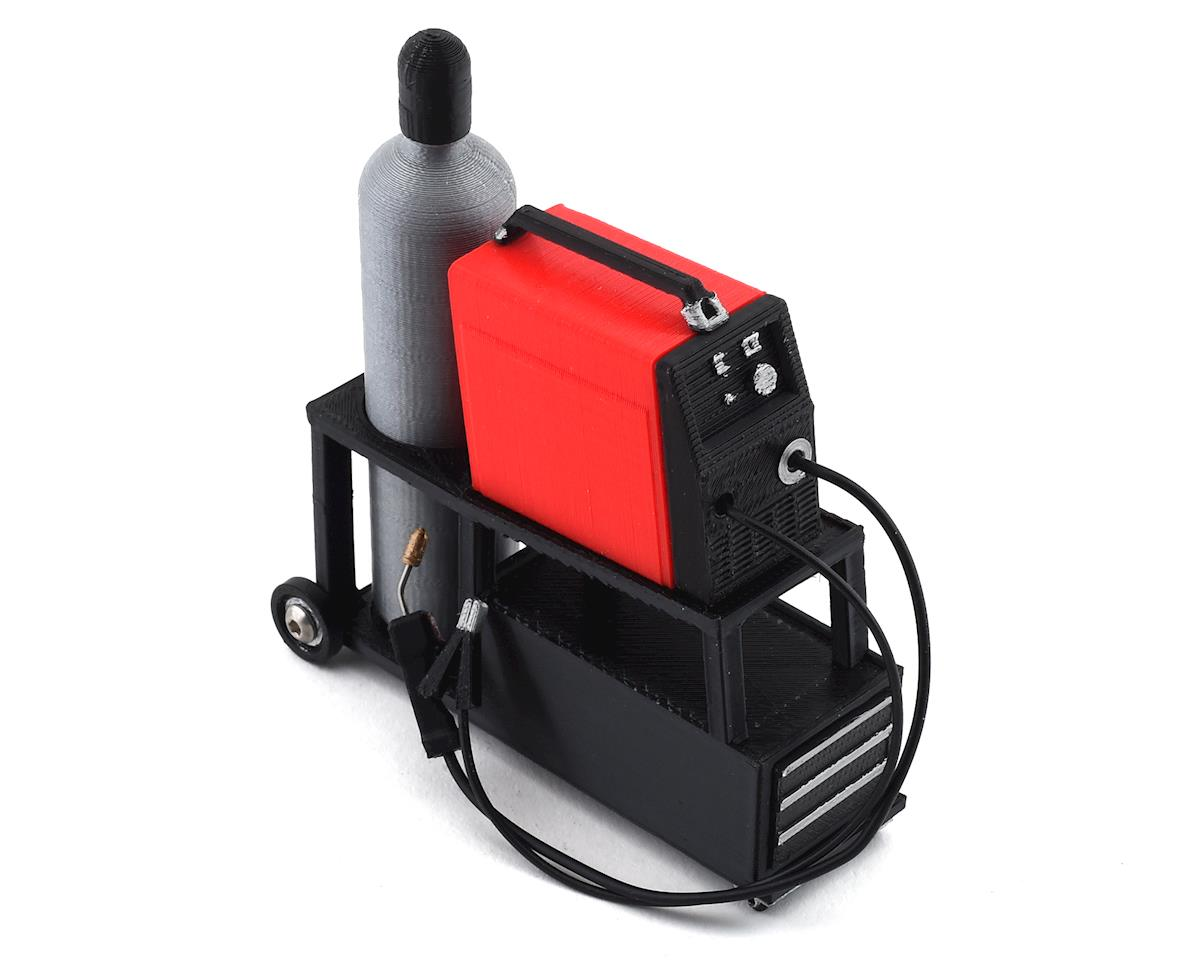 Scale By Chris Complete Welding Cart w/Welder (Red)