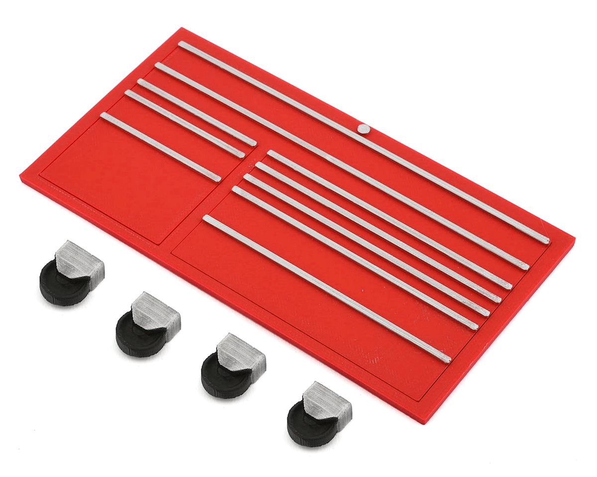Scale By Chris Scale Shop Series Classic Tool Box Face w/Casters (Red)