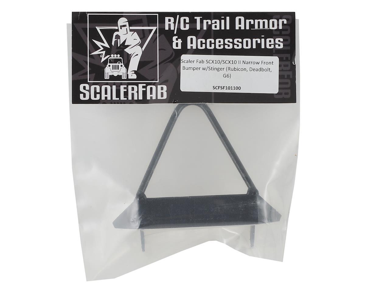 ScalerFab SCX10/SCX10 II Narrow Front Bumper w/Stinger