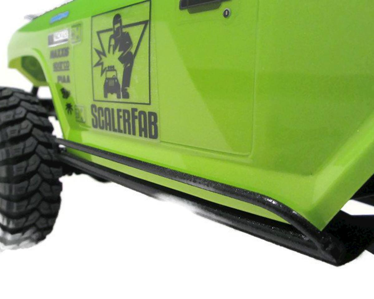 SCX10/SCX10 II Double Bar Rock Sliders by ScalerFab