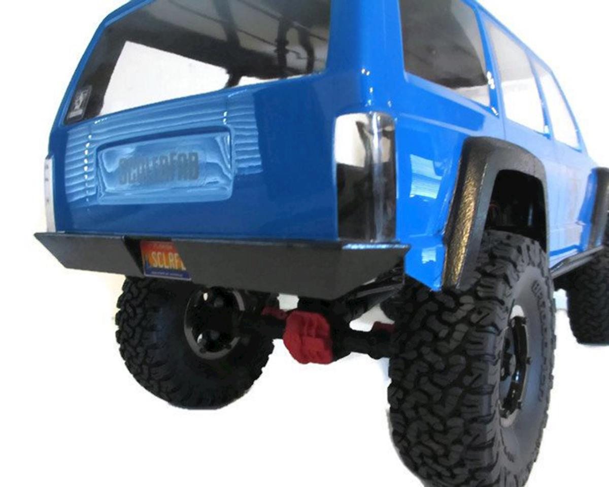 ScalerFab SCX10/SCX10 II Rear Bumper w/License Plate Recess