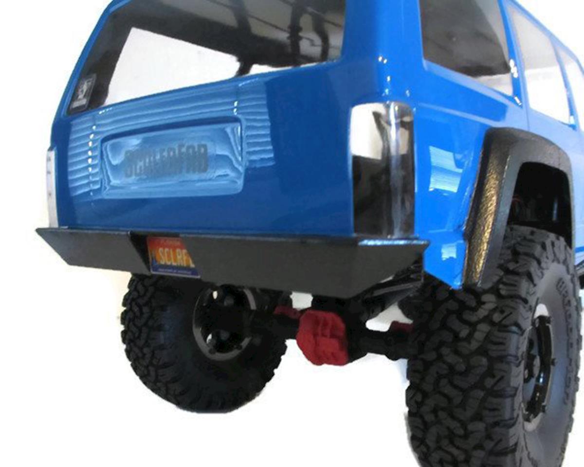 ScalerFab SCX10 II Rear Bumper w/Shackle Mounts & License Plate Recess