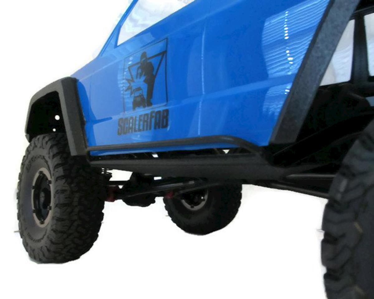 ScalerFab SCX10/SCX10 II Double Bar Rock Sliders w/Skid Plates